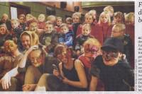 Das Tanztheater Lysistrate beim 7. Festival der Sinne (Pressertikel)